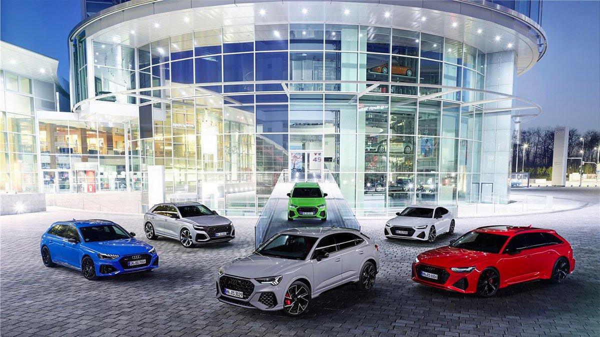 Audi Rs: La gamma